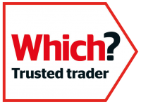 Which? Trusted Trader Logo transparent background